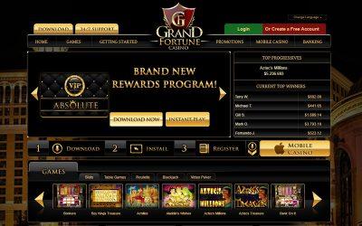 Grand Fortune Casino Accepts Bitcoin