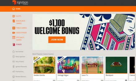 Ignition Casino – Now Accepting Bitcoin
