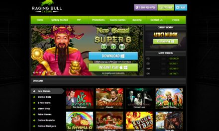 Raging Bull Casino – Now Accepting Bitcoin Deposits