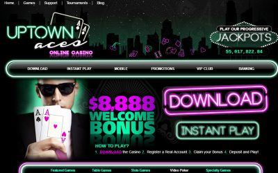 Uptown Aces  – Now Accepting Deposits by Bitcoin