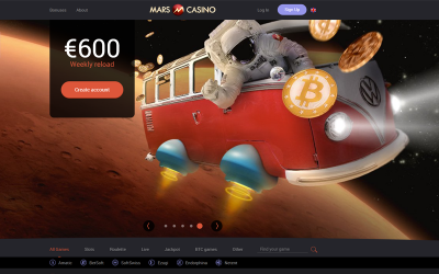 Mars Casino Accepts Bitcoin